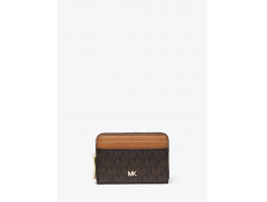 Small Logo and Leather Wallet
