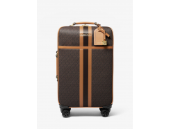 Bedford Travel Extra-Large Logo Stripe Suitcase