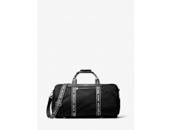 Kent Logo Tape Nylon Convertible Duffel Bag