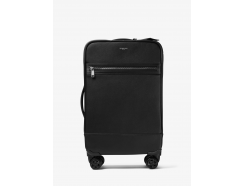 Harrison Cross-Grain Leather Suitcase