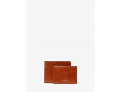 Henry Crossgrain Leather Billfold Wallet With Passcase