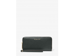 Leather Continental Wristlet