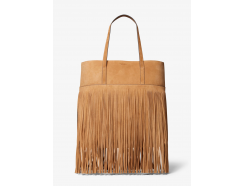 Ursula Medium Fringed Suede Tote